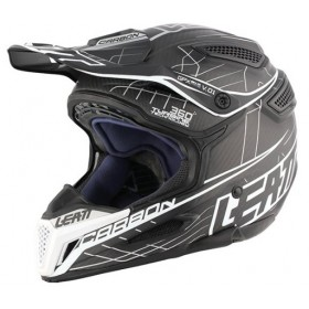 Kask LEATT GPX 6.5 Carbon Fiber V01 Silver Grey Black r. M