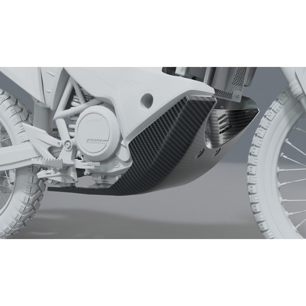 Płyta pod silnik 690 Rally - Carbon Fox