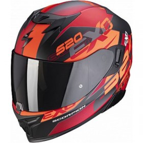 Kask SCORPION EXO-520 AIR COVER RED