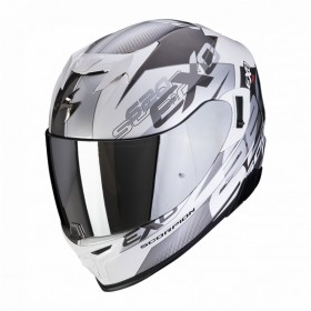 Kask SCORPION EXO-520 AIR COVER SILVER