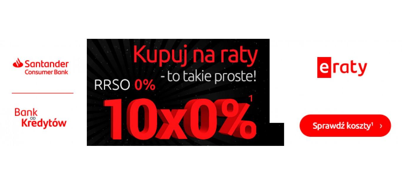 Kupuj na raty 10x0% - to takie proste!