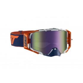 Gogle LEATT VELOCITY IRIZ 6.5 Orange/Ink Purple 30% Pomarańczowo/Granatowe