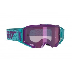 Gogle LEATT VELOCITY 5.5 Iriz Aqua Purple 78% Turkusowo/Fioletowe