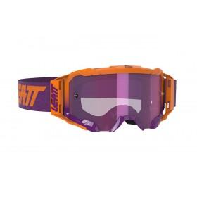 Gogle LEATT VELOCITY 5.5 Iriz Neon Orange Purple 78% Fioletowo/Pomarańczowe