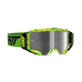 Gogle LEATT VELOCITY 5.5 Neon Lime Light Grey 58% Fluo Żółto/Zielony