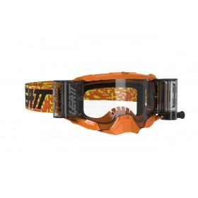 Gogle LEATT VELOCITY 5.5 Roll-Off Neon Orange Clear 83% Pomarańczowe
