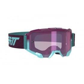 Gogle LEATT VELOCITY 4.5 Iriz Aqua Purple 78% Turkusowo/Fioletowe