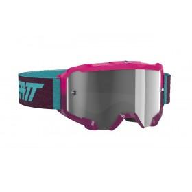 Gogle LEATT VELOCITY 4.5 Neon Pink Light Grey 58% Różowo/Turkusowy