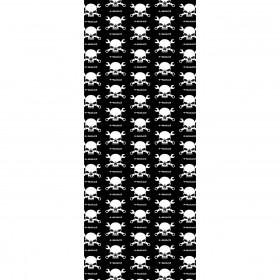 Multifunkcyjny komin HELD Skull Czarny