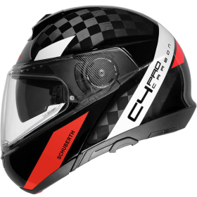 Kask Schuberth C4 PRO CARBON Avio Red