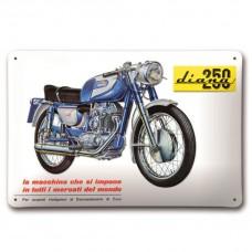 Ducati Diana 250 Metalowy Znak / Zawieszka