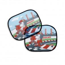 Ducati Cartoon osłona przeciwsłoneczna 2 szt