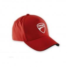 Ducati Corse firmowa czapka dla fanów - czerwona
