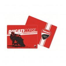 Zestaw podkładek na stół Ducati Corse 2 set