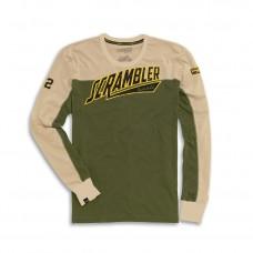 Long Sleeve T-Shirt L Scrambler By Ducati