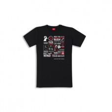 DUCATI T-Shirt rozmiar S Black