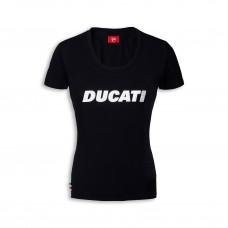 Ducati T-Shirt czarna damska