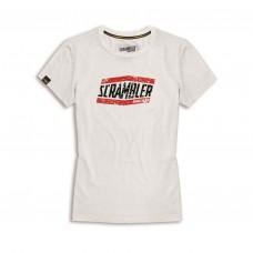 DUCATI SCRAMBLER T-Shirt damski M
