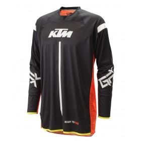 Koszulka z długim rękawem KTM GRAVITY-FX 2021, czarna