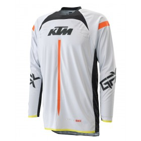 Koszulka z długim rękawem KTM GRAVITY-FX 2021, biała