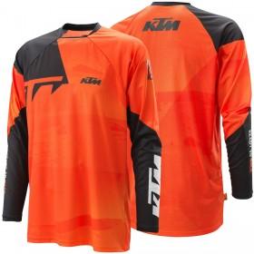 Koszulka terenowa z długim rękawem KTM POUNCE 2021, pomarańczowa