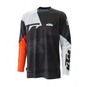 Koszulka terenowa z długim rękawem KTM POUNCE2 2021, czarna
