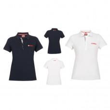 Korporacyjna koszulka Polo Yamaha 2017 damska (Navy / White)