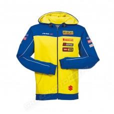 Bluza męska z kapturem zespołu MXGP Suzuki