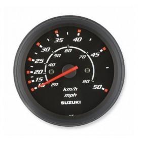 Prędkościomierz czarny 80km/h, 50mph DF2.5 - DF350