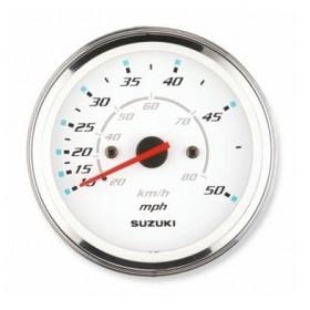 Prędkościomierz biały 80km/h, 50mph DF2.5 - DF350