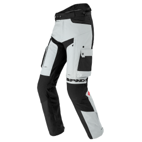 Męskie spodnie tekstylne SPIDI U105 341 ALLROAD Szare