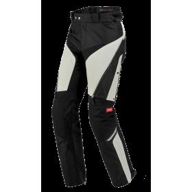 Męskie spodnie tekstylne SPIDI U76 010 4SEASON Czarno/Szare