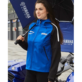 Damska Kurtka softshell Yamaha Paddock Blue Pulse