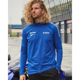 Bluzka z długim rękawem Yamaha Paddock Blue Pulse