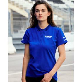 Damska koszulka polo Yamaha Paddock Blue Essentials