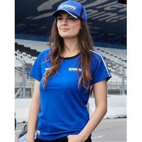 Damska koszulka Yamaha Paddock Blue Pulse