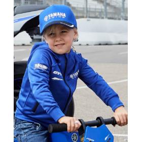 Dziecięca bluza z kapturem Yamaha Paddock Blue Pulse