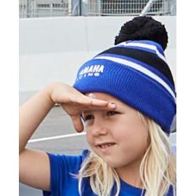 Dziecięca zimowa czapka Yamaha Paddock Blue