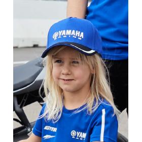 Dziecięca czapka z daszkiem Yamaha Paddock Blue