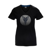 Damska koszulka Yamaha Hypernaked Madison, czarna