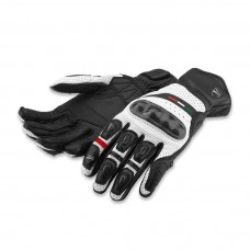 Rękawice Ducati leather Rev'it Diavel black white