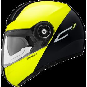 Kask szczękowy SCHUBERTH C3 Pro Split Yellow Dzielony Żółty