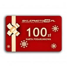 100 zł - Karta podarunkowa sklepmoto46.pl