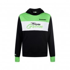 Bluza dziecięca z kapturem Team Green