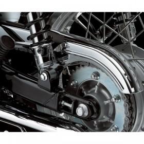 Chromowana osłona łańcucha - Kawasaki W800  ( 2012 -