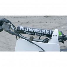 Nakładka na kierownicę w barwach Kawasaki dla KX
