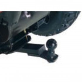 Tow ball with bracket