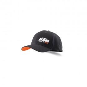 Czapka z daszkiem KTM Racing, czarna