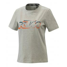Damska koszulka KTM Tee, szara