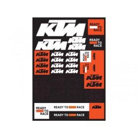 Naklejki KTM